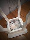 Табурет ясиневий обідній (450х320х320мм), фото 2