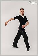 Брюки мужские для танцев (с широким лампасом)