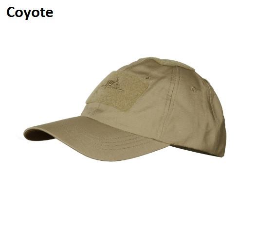 Оригинал Тактическая кепка Helikon-Tex Baseball CAP CZ-BBC-PR - PolyCotton Ripstop Олива (Adaptive Green)