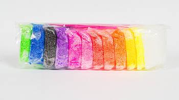Шариковый моделин (Глина) - набор 12 цветов