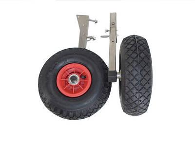 Транцевые колеса из нержавеющей стали