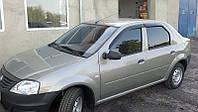 Dacia Logan II 2008-2013 гг. Ветровики (4 шт, Cobra)