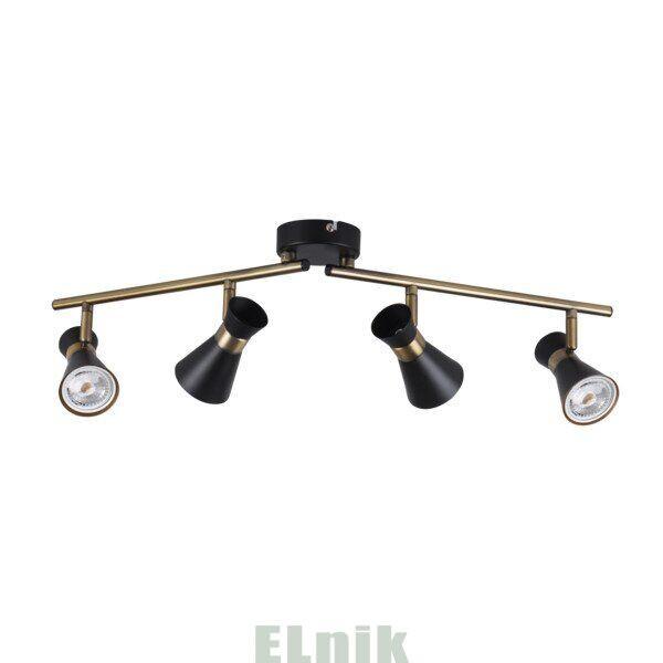 Светильник настенно-потолочный MILENO EL-4I B-AG, Kanlux [29118]