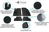 Toyota Prius 2015-  Коврики резиновые автомобильные  Stingray, фото 3