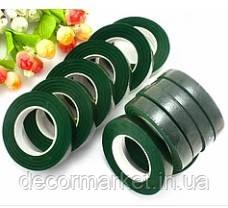 Тейп-лента темно-зеленая 12 мм