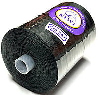 Нить армированная Графитовая 28/2 (347тон) полиэфирное волокно 2500м Kiwi