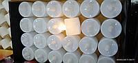 Светодиодная свеча чайная белая (упаковка 24шт)