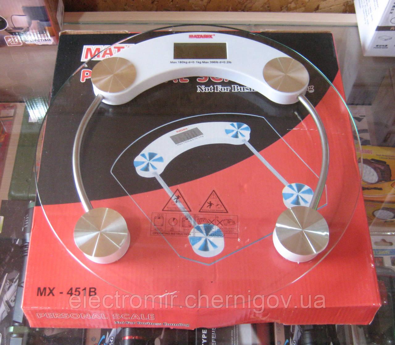 Весы напольные Matarix MX-451B (до 180 кг)