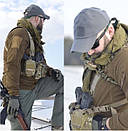 Оригинал Зимняя тактическая бейсболка Helikon-Tex BBC WINTER CAP CZ-BBW-FS - SHARK SKIN Camogrom®, фото 9