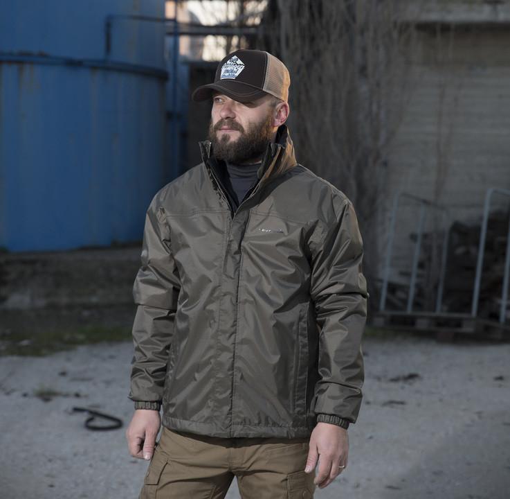 Оригинал Мембранна тактическая утепленная куртка Pentagon ATLANTIC 2.0 PLUS K07011 Large, Койот (Coyote)