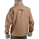 Оригинал Мембранна тактическая утепленная куртка Pentagon ATLANTIC 2.0 PLUS K07011 Large, Койот (Coyote), фото 6