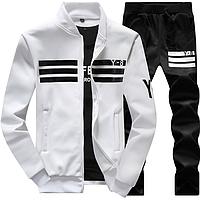 Спортивный костюм Черный с белым