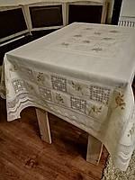 Скатерть(клеенка) Лейс  для стола 120*150 см