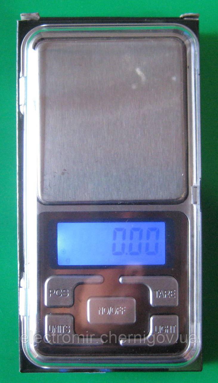 Ваги ювелірні Pocket Scale MH-200