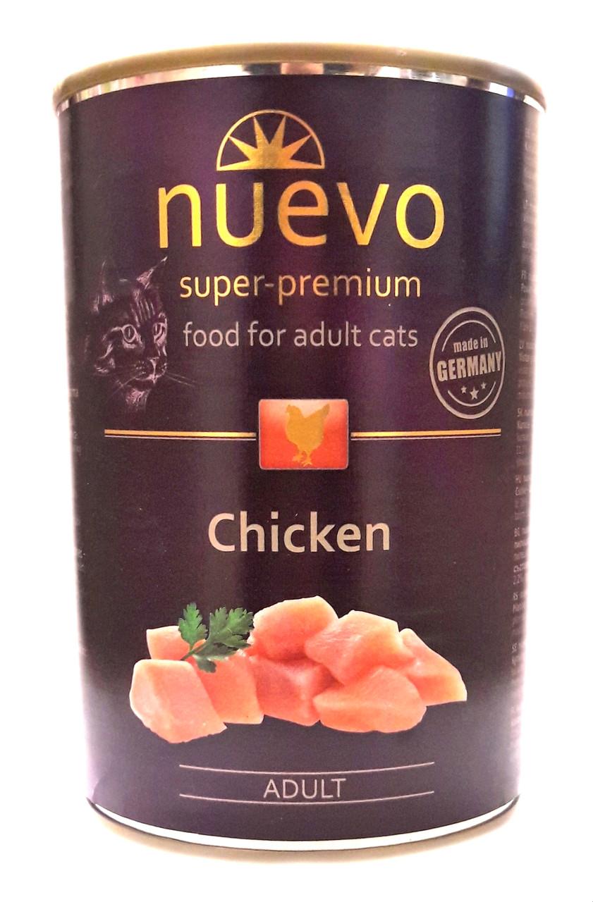 Консервы для кошек Нуэво Nuevo Chicken с курицей 400 г