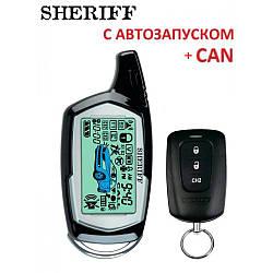Автосигнализация Sheriff ZX-1090 PRO CAN без сирены