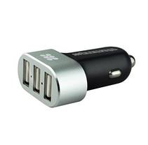Автомобильная USB зарядка от прикуривателя 3 входа, фото 2