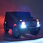 Детский электромобиль Mercedes Benz M 3567EBLRS-3 красный автопокраска, фото 2