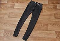 Женские джинсы levi's оригинал черные приталенные маленький размер XS