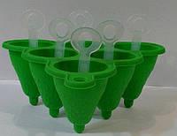 Силиконовая форма для мороженого 140*140*95 мм (шт)