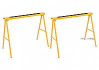 Стойки складные стальные VOREL 100 х 10 х 75 см 2 шт