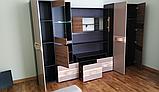 Стенка гостиная «Гламур» Мебель-Сервис, фото 3