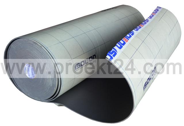 Изолон самоклеющийся 10мм, isolontape 10мм, изолонтейп 10мм