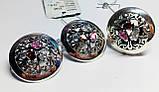 Цілий набір з різнокольоровими цирконами срібло Сенс, фото 2