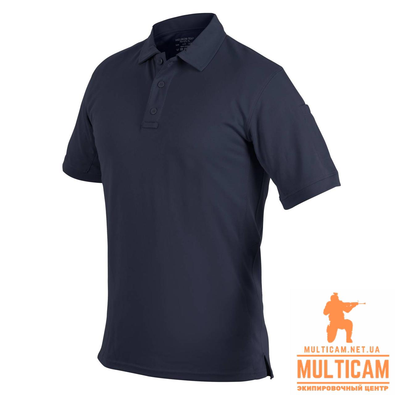 Футболка поло Helikon-Tex® UTL Polo Shirt - TopCool Lite - Navy Blue