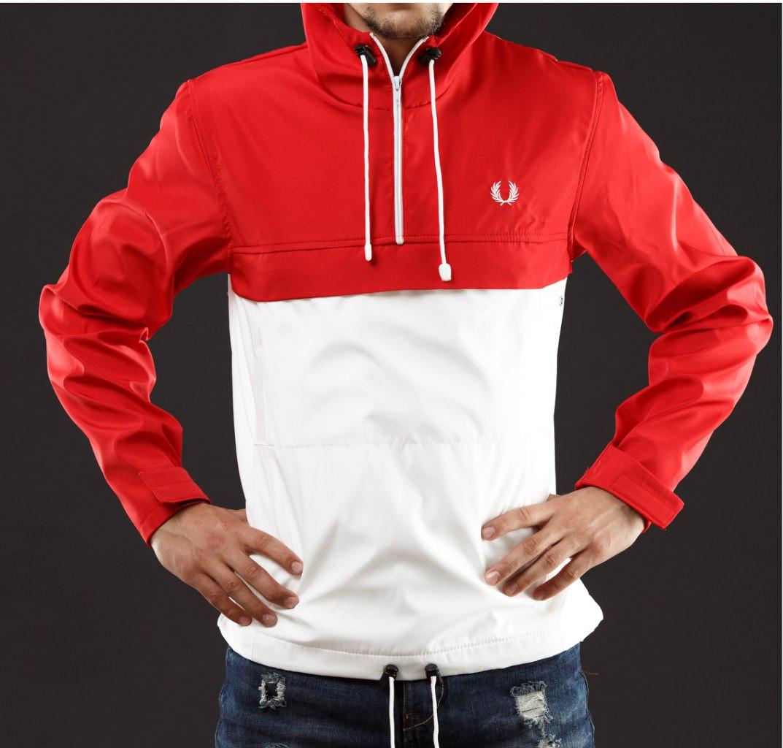 76280f91 Размер S Мужская куртка анорак FP красно-белый: продажа, цена в ...