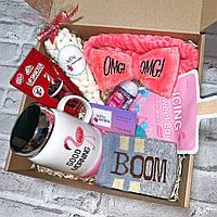 """Подарочный бокс для девочки WOW BOXES """"flamingo box"""""""