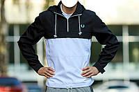 Мужская куртка анорак FP черно-белый