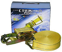 Стяжка груза 5T х50мм х10м ST-212-10 YL (color box)  (компл.)