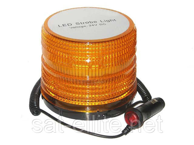 Мигалка светодиодная 137*129*118 12V 30LED магнитная