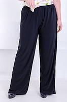 Удобные женские брюки размера плюс Casual 6 цветов (48-70) 58-60, Черный