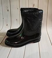 Утепленные женские резиновые сапоги,полусапожки,ботинки,см.описание, фото 1