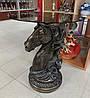 Подставка декоративная, столик Голова лошади Veronese WS-1032