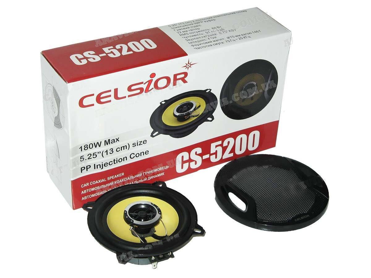 Колонки CELSIOR 5200yellow 13см (компл.)