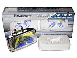 Фары STRONG LIGHT 1558 RY крышка (пара)