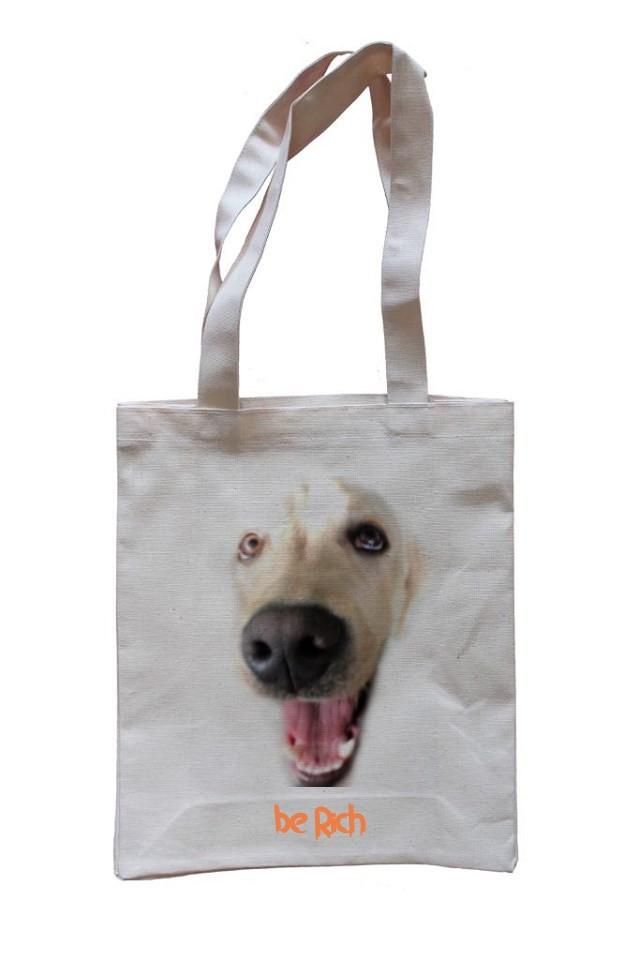 Еко-сумка з бавовни dogRICH (40x36)