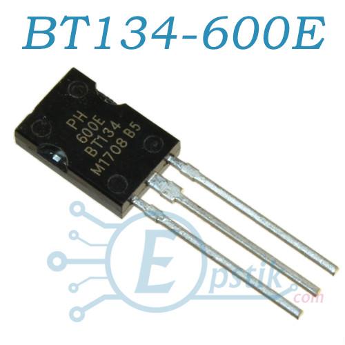 BT134-600E, симистор 4А, 600В, SOT82
