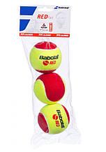 Мячи теннисные для детей Babolat Red Felt X3 501036/113 (3 шт.)