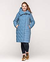 Демисезонная модная удлиненная куртка батал, разные цвета, фото 1