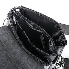 Сумка мужская качественная черная из экокожи DR. BOND (20*17*5 см) GL 315-1 black, фото 3