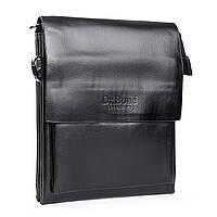 Практичная мужская сумка из экокожи DR. BOND (19*16*5 см) GL 314-2 black
