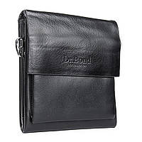 Удобная мужская сумка из экокожи DR. BOND (20*17*5 см) GL 314-1 black