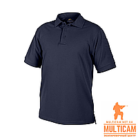 Термофутболка поло Helikon-Tex® UTL Polo Shirt - TopCool® - Navy Blue, фото 1
