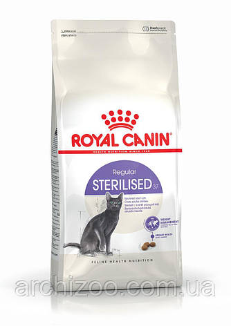 Royal Canin Sterilised 10кг Роял Канин Стерильные для взрослых стерилизованных кошек, фото 2