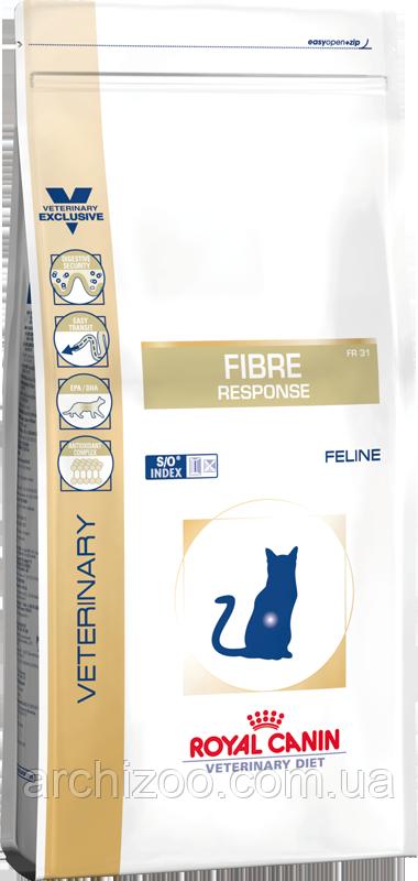 Royal Canin Fibre Responce Feline 2кг для кошек при нарушениях пищеварения