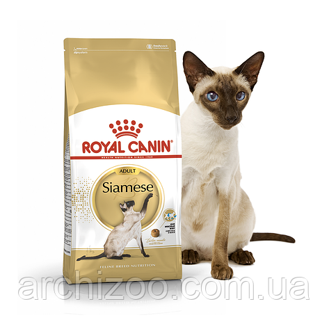 Royal Canin Siamese 10кг Сиамские кошки старше 12 месяцев, фото 2